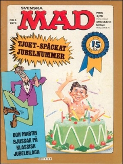 Go to MAD Magazine #6 1974 • Sweden