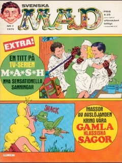 Go to MAD Magazine #7 1974 • Sweden
