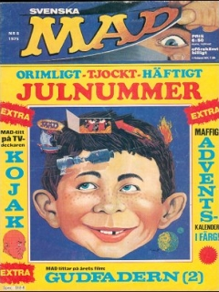 Go to MAD Magazine #8 1974 • Sweden