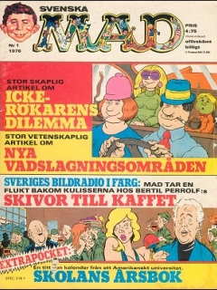 Go to MAD Magazine #1 1975 • Sweden