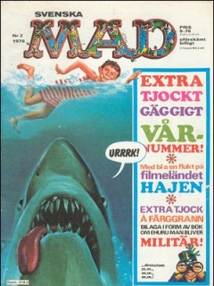 Go to MAD Magazine #2 1975 • Sweden