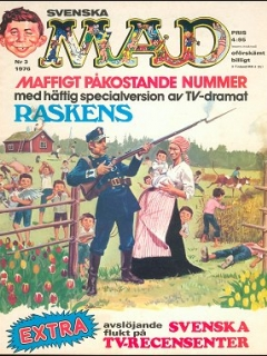 Go to MAD Magazine #134 • Sweden