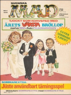 Go to MAD Magazine #4 1975 • Sweden