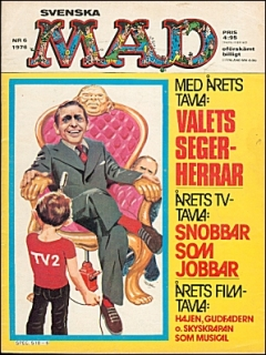 Go to MAD Magazine #6 1975 • Sweden