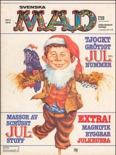 Go to MAD Magazine #8 1975 • Sweden