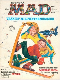Go to MAD Magazine #1 1976 • Sweden
