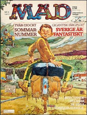 MAD Magazine #5 • Sweden