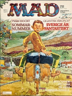 Go to MAD Magazine #5 1976 • Sweden
