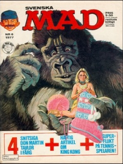 Go to MAD Magazine #6 1976 • Sweden