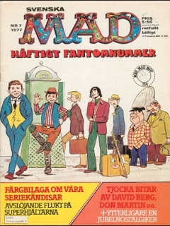 Go to MAD Magazine #7 1976 • Sweden