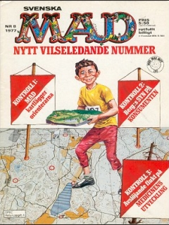 Go to MAD Magazine #8 1976 • Sweden