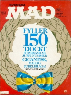 Go to MAD Magazine #148 • Sweden