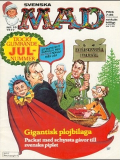 Go to MAD Magazine #10 1976 • Sweden