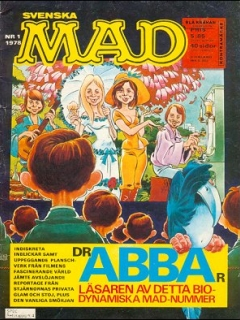 Go to MAD Magazine #1 1977 • Sweden