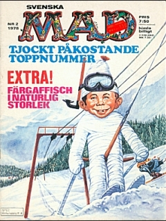Go to MAD Magazine #2 1977 • Sweden