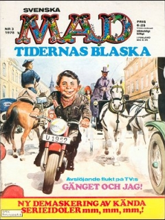 Go to MAD Magazine #3 1977 • Sweden