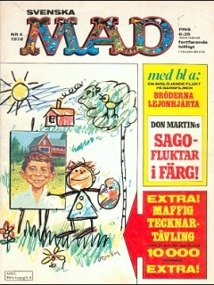 Go to MAD Magazine #4 1977 • Sweden