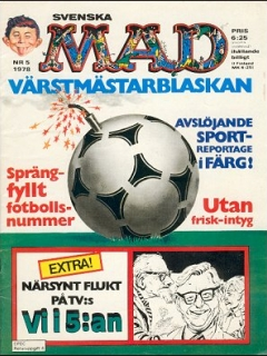 Go to MAD Magazine #5 1977 • Sweden