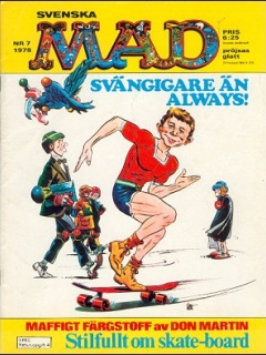 Go to MAD Magazine #7 1977 • Sweden