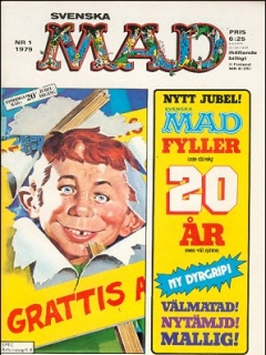 Go to MAD Magazine #1 1978 • Sweden