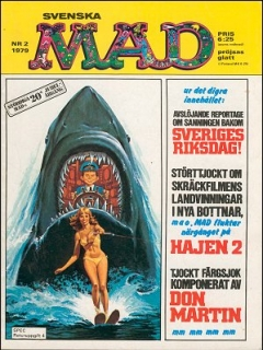 Go to MAD Magazine #2 1978 • Sweden