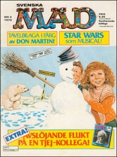 Go to MAD Magazine #3 1978 • Sweden