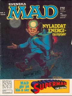 Go to MAD Magazine #7 1978 • Sweden
