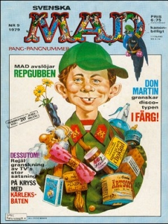 Go to MAD Magazine #9 1978 • Sweden