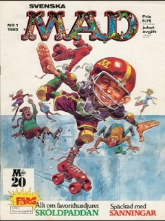 Go to MAD Magazine #1 1979 • Sweden
