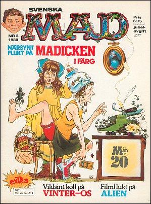MAD Magazine #171 • Sweden