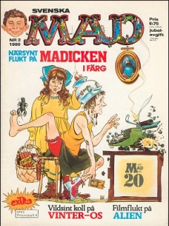 Go to MAD Magazine #2 1979 • Sweden