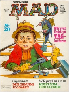 Go to MAD Magazine #4 1979 • Sweden