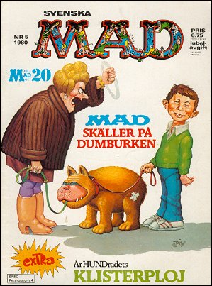 MAD Magazine #174 • Sweden