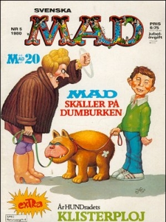 Go to MAD Magazine #5 1979 • Sweden