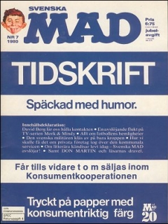Go to MAD Magazine #7 1979 • Sweden
