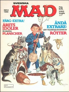 Go to MAD Magazine #8 1979 • Sweden