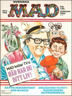 Go to MAD Magazine #9 1979 • Sweden