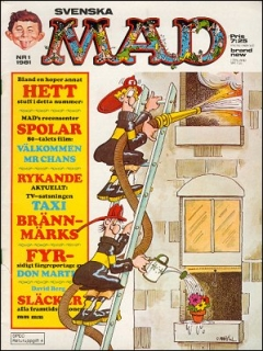 Go to MAD Magazine #1 1980 • Sweden