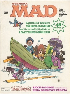 Go to MAD Magazine #182 • Sweden