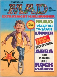Go to MAD Magazine #6 1980 • Sweden