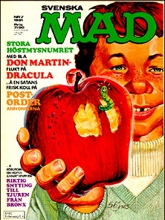 Go to MAD Magazine #7 1980 • Sweden