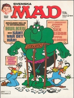 Go to MAD Magazine #8 1980 • Sweden