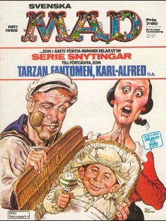 Go to MAD Magazine #1 1981 • Sweden