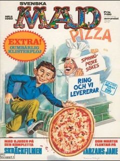 Go to MAD Magazine #2 1981 • Sweden
