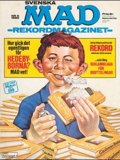 Go to MAD Magazine #5 1981 • Sweden