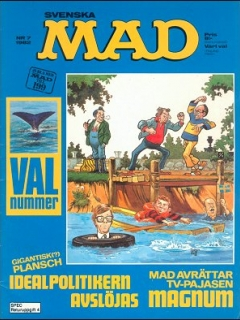 Go to MAD Magazine #7 1981 • Sweden