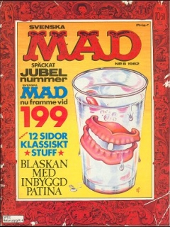 Go to MAD Magazine #8 1981 • Sweden