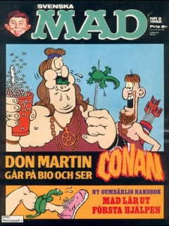 Go to MAD Magazine #9 1981 • Sweden