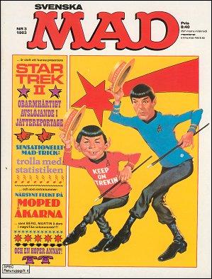 MAD Magazine #202 • Sweden