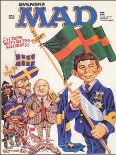 Go to MAD Magazine #5 1982 • Sweden